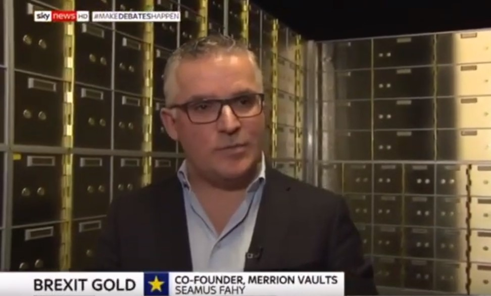 Safe Deposit Box & Gold Bullion Demand