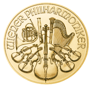 Vienna Philharmonic 1oz Gold Coin